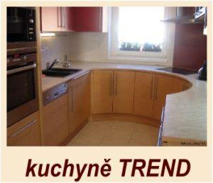 kuchyně TREND